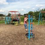 Hounslow Urban Farm outside play area